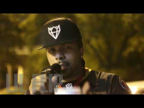 LIL FLIP discusses new K.I.N.G. project + performs on LIVE TV + Interview