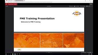 FME Desktop 2018 Basic Course