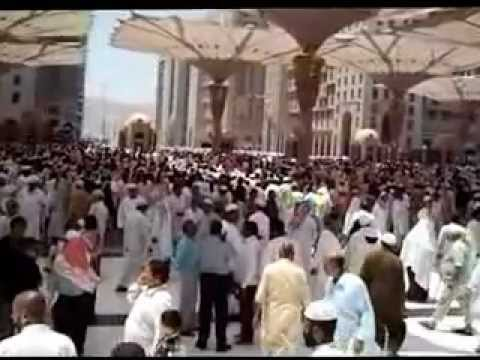2012-06-23 Perkarangan Masjid Nabawi Travel Video