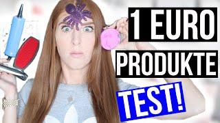 SKURRILE + NÜTZLICHE 1 EURO PRODUKTE TESTEN mit ÜBERRASCHUNG! | LaurenCocoXO