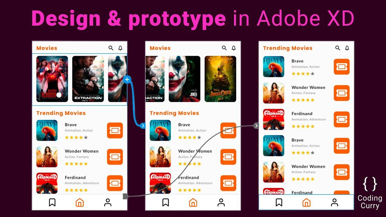 How to Design a Mobile App & Prototype in Adobe XD
