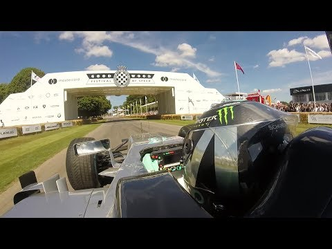 Onboard F1 Action with Nico Rosberg - Goodwood 2017