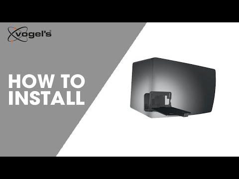 How to install SOUND 3205 | Speaker wall mount | Vogel's