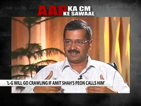 Kejriwal Barkha Dutt Funny Interview with NDTV - YouTube