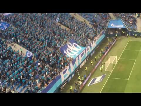 Зенит - Томь (Поддержка Виража на матче Кубка России по футболу)
