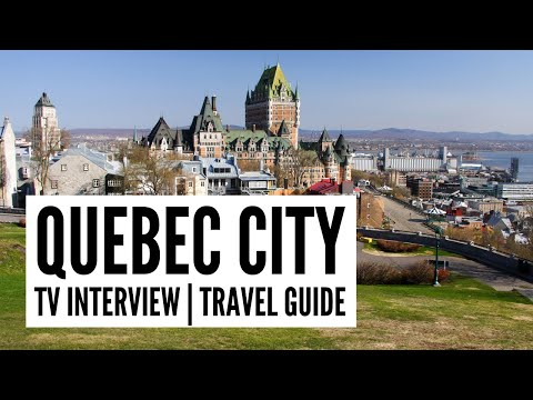 Quebec City Travel Guide - The Big Bus tour and travel guide