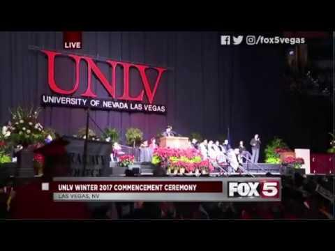 2017 UNLV Outstanding Graduate Joshua Adams