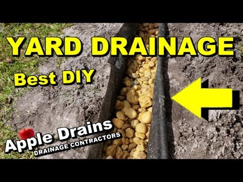 How To Build and Install the BEST Yard Drain, French Drain, 2 Great Systems Combined