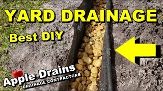 Gambar cover How To Build and Install the BEST Yard Drain, French Drain, 2 Great Systems Combined