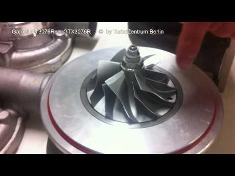 TurboZentrum Berlin vergleicht Garrett GT3076R und GTX3076R