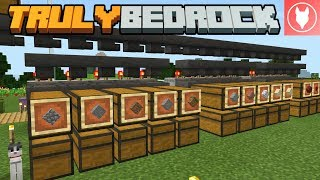 Truly Bedrock S1: E9 - Beacons & Automatic Item Sorting