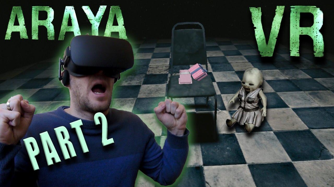 ARAYA VR Horror Game Part 2 (That Demon Doll)