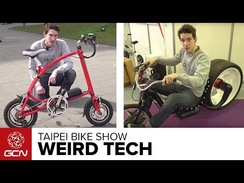 Weird And Wonderful Tech From The Taipei Bike Show