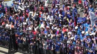 2011 J1ヴァンフォーレ甲府 強敵名古屋を中銀スタジアムに迎える。初...