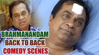 Brahmanandam Back To Back Comedy Scenes || Vol 7