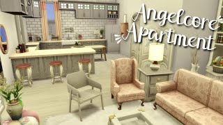 Angelcore Apartment ☁️✨// The Sims 4 Aesthetic Apartment Renovation | 121 Hakim House