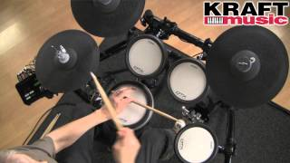 Kraft Music - Yamaha DTX532K Electronic Drum Set Demo with Tom Griffin
