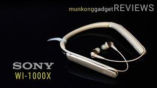 รีวิว : หูฟังอินเอียร์บลูทูธ Sony WI-1000X