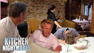 moments more shocking than when i found out it's not butter | Kitchen Nightmares