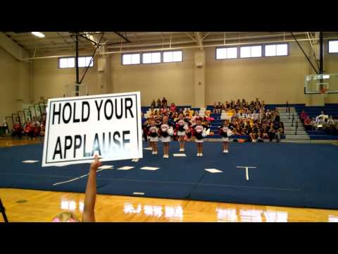 2015 Oak Grove Youth Cheer Competition Jr/Sr (9 - 12 year old) SQUAD