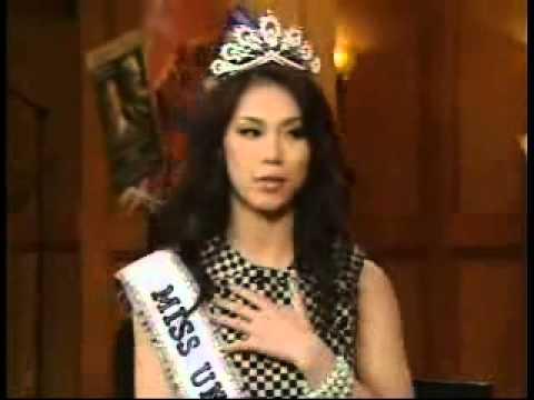 Riyo Mori - Miss Universe 2007 in Regis & Kelly Part-1 ( Official Riyo Mori Lovers ) HD