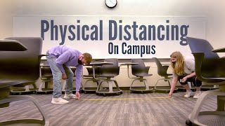 Physical Distancing On Campus | UConn