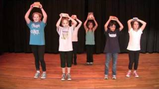 Roosevelt Flash Mob: Part 1 -- Gotta Keep Reading -- Learn the Dance