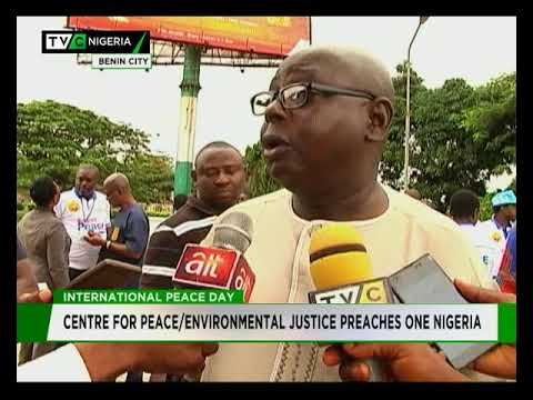 International Peace Day : Centre for Peace, Environmental Justice, preaches one Nigeria