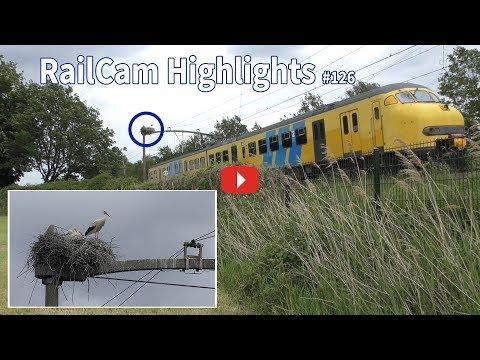RailCam Highlights #126 westbound MAT 64