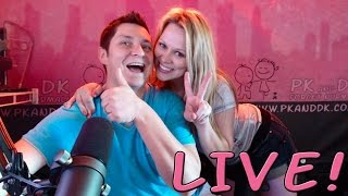 PK and DK Live - 4.29.15 - The Bitch Better Take Me Potty Show!