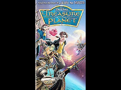opening to treasure planet 2003 vhs canadian copy youtube