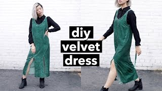 DIY Velvet Dress! | WITHWENDY
