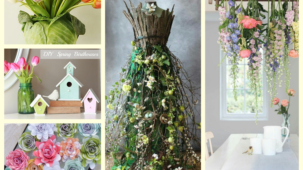 TOP 5 Spring Decor Trends - Spring Decorating Ideas - YouTube