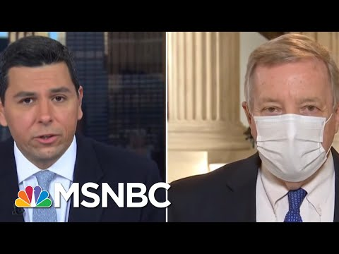 Senator Durbin (D-IL): Attorney General Barr Was Fired | Ayman Mohyeldin | MSNBC