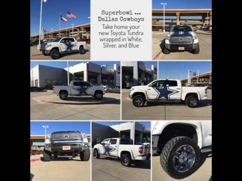 toyota tundra - dallas cowboys - sam mau sales team @ toyota of