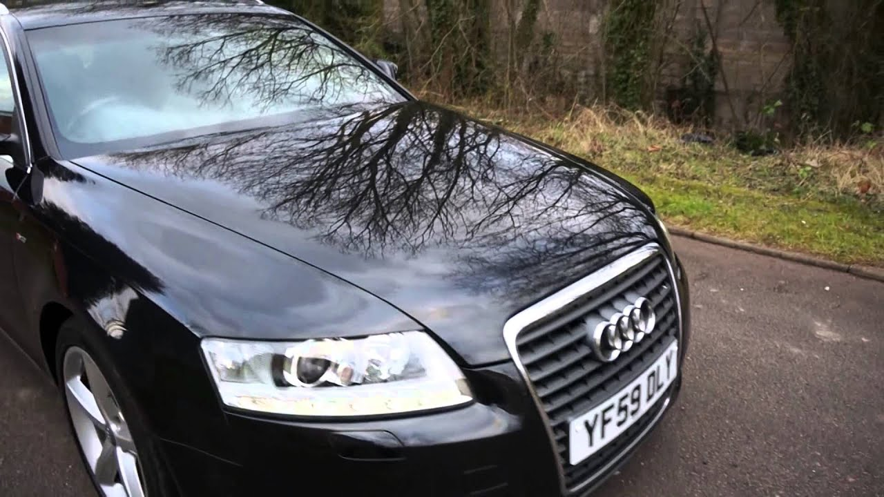 2009 59 audi a6 2 0 tdi s line avant manual diesel estate black rh youtube com audi a6 4f service manual audi a6 4f repair manual