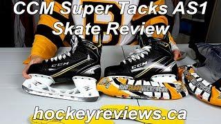 CCM Super Tacks AS1 Hockey Skate Review