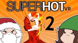 Superhot VR: Action Hero - PART 2 - Game Grumps