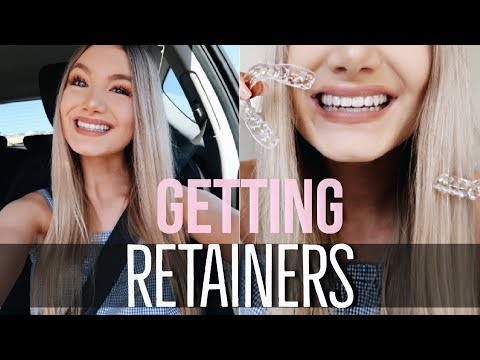 GETTING RETAINERS AFTER BRACES!