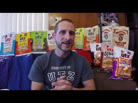 Utz Quality Foods Review #6 Red Hot Chip, Baby Back Rib, Southern Sweet Heat!