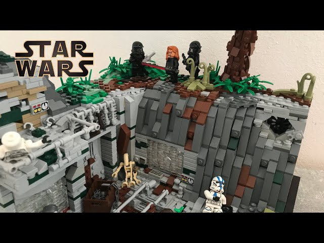 Old Underground Clone Base on Belcadan/ A Lego Star Wars Moc/(For the Moc Contest of Moc Builder)