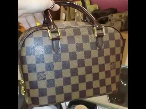 LOUIS VUITTON Damier Ebene Sarria Mini Bag - YouTube 21c6e5300a