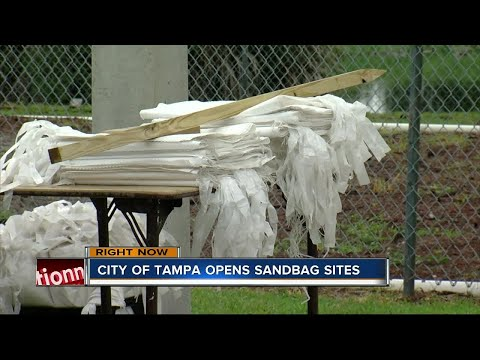 Sandbag stations open in Tampa