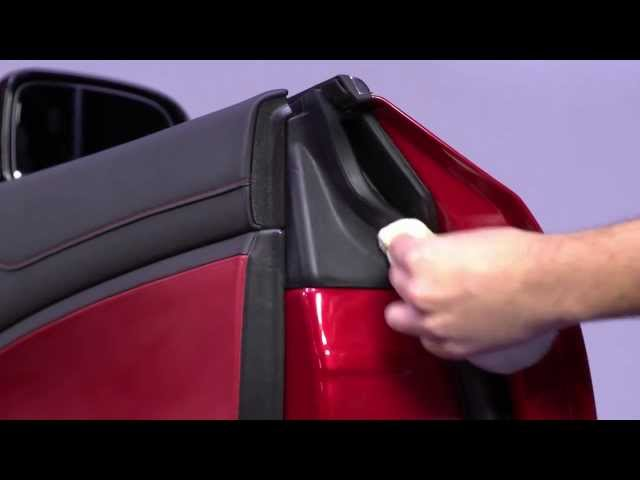 How to use Autoglym Bumper & Trim Gel