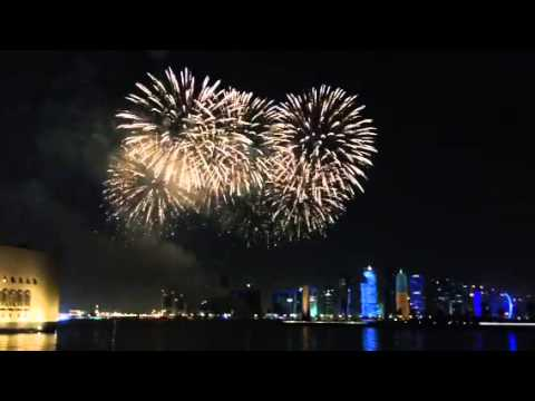 QIFF2015 Fire Works - Doha