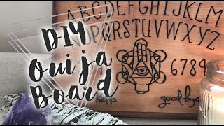 DIY Ouija Board (wood burning tutorial)