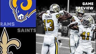 Game Preview: Rams vs. Saints   PFF