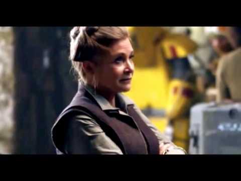 Carrie Fisher Panel Edmonton Expo 2016 - Episode 8 Spoilers - Kylo Ren a Nazi - Trump [FUNNY!] Audio
