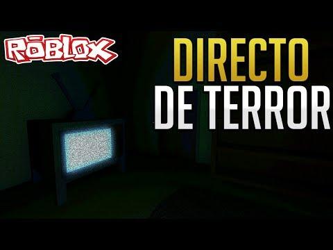 DIRECTO DE TERROR ROBLOX |  Pasando miedo en Silent Dark
