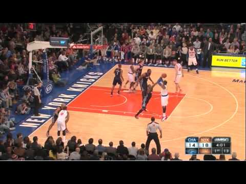 How Carmelo Anthony Got 62 Points vs Bobcats